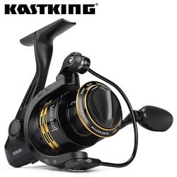 KastKing Lancelot 8KG Max Drag Power 5.0:1/4.5:1 Gear Ratio 5+1 Ball Bearings Carp Fishing Reel Light Weight Spinning Reel