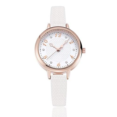 Модные Повседневное мужчины кожаный ремешок часы Мужские кварцевые наручные часы мужчин Алмазный Часы