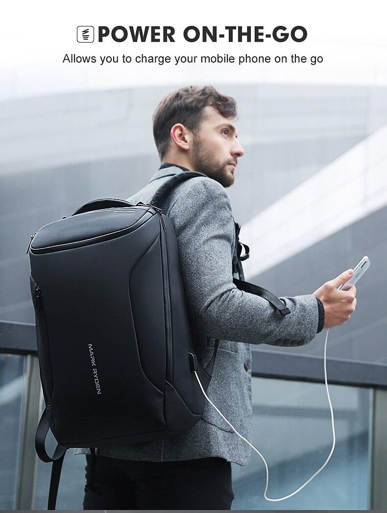 HTB1tN0ebsrrK1Rjy1zeq6xalFXab - Mark Ryden 2019 New Anti-thief Fashion Men Backpack Multifunctional Waterproof 15.6 inch