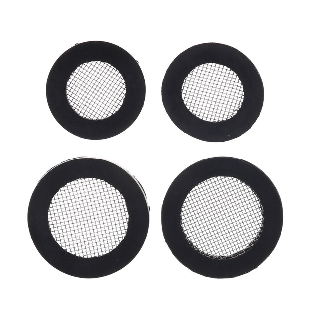 20/25MM Rubber Gasket with Net Shower Head Filter Plumbing Hose Seal ...
