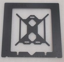 RepRap Prusa i3 MK2 клон алюминиевая рама комплект 6 мм Толщина Черный Цвет ЧПУ сделал