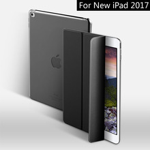Case for New iPad 9.7 inch 2017 2018, ZVRUA YiPPee Color PU Smart Cover Case Magnet wake up sleep model A1822 A1823 A1893 A1954(China)