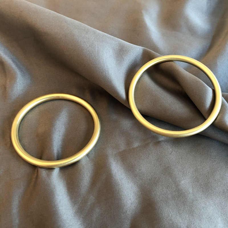2019 New Hot Vàng Màu Bangle Vòng Đeo Tay Cho Phụ Nữ Người Đàn Ông Thực Sự 925 Sterling Silver Fine Bangle 5mm Chiều Rộng Sinh Nhật quà tặng Pulsera