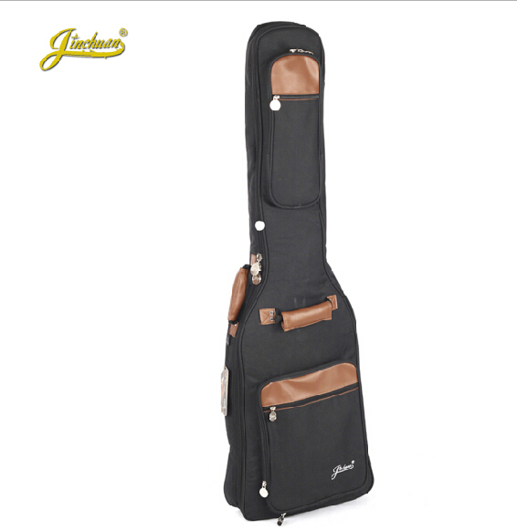 Profession high quality general electric bass guitar case gig bag backpack  travel shockproof waterproof holder package