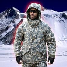 Jacket Men Winter G8 Military Tactical Waterproof Windproof Warm Camouflage Softshell Jacket Fleece Coat Hiking Jacket Man