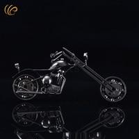 Zakka bakkal klasik modeli el moto oyuncak retro vintage harley motosiklet modeli metal tekne dekorasyon