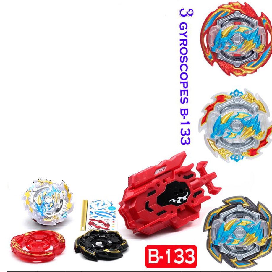 Beyblade Burst Toys B-133 Band Launcher and Box Bables Metal Fusion Spinning Top Bey Blade Blades Toy BaybladeBeyblade Burst Toys B-133 Band Launcher and Box Bables Metal Fusion Spinning Top Bey Blade Blades Toy Bayblade