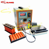 SUNKKO 2017 New Upgrade LED lighting 788H USB Double pulse precision 18650 Spot Welder Battery Welding