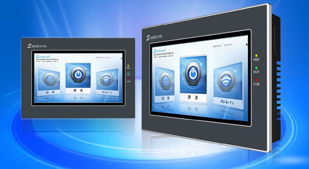 Samkoon  AK-070BXC 7  TOUCH SCREEN & HMI PANEL WITH PROGRAMMING CABLE AND SOFTWARE,HAVE IN STOCK