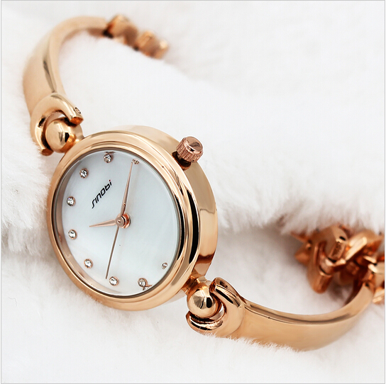 SINOBI Women's Watches Bracelet Wrist Watch Women Watches Top Brand Luxury Ladies Watch Clock reloj mujer relogio feminino saat reloj mujer 2017 watch top brand luxury ladies watches womens quartz wrist watch waterproof clock women hours relogio feminino