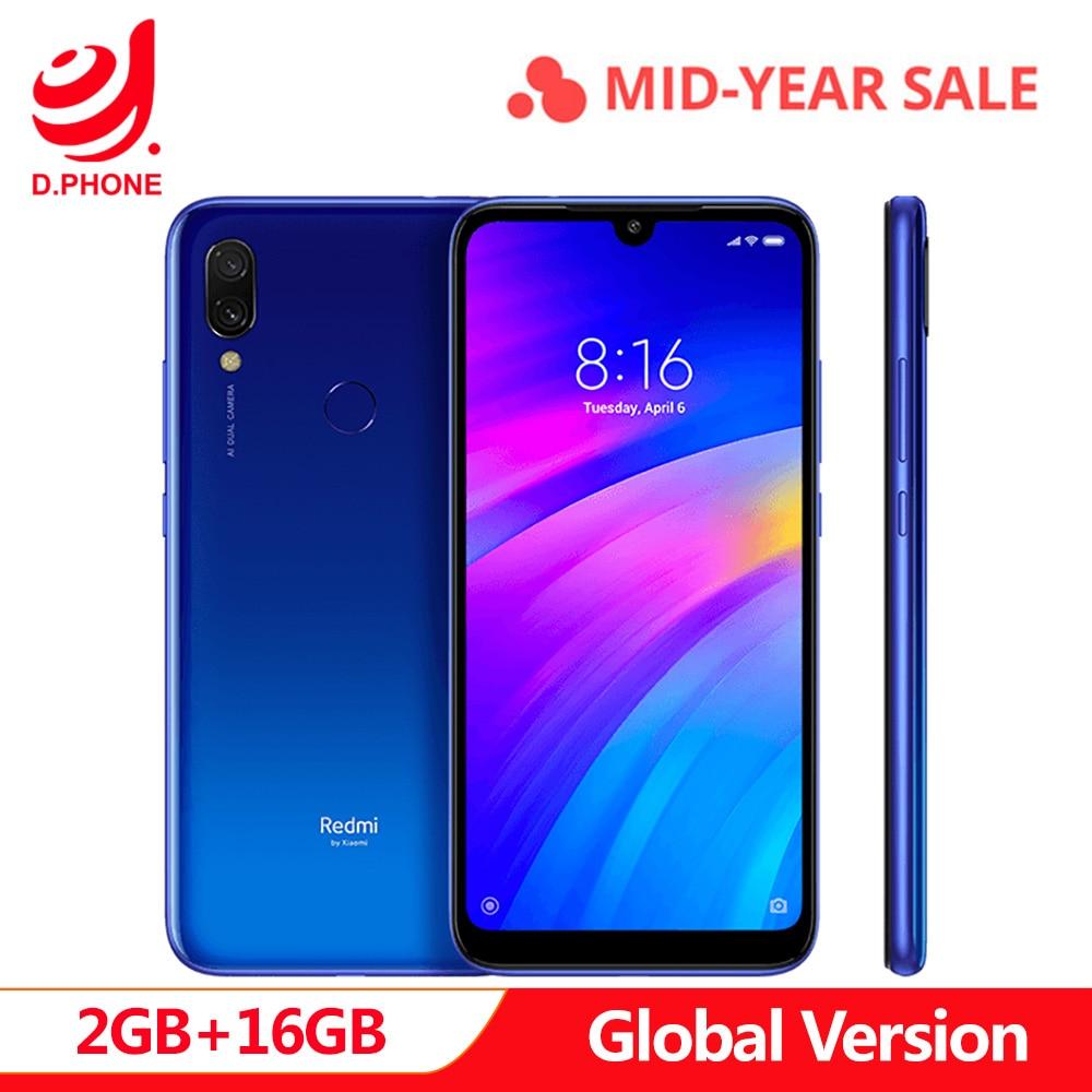 4000mAh Global Version Xiaomi Redmi 7 2GB 16GB Snapdragon 632 12MP +2MP 6.26 Full Screen Redmi7 P2i waterproof Smartphone4000mAh Global Version Xiaomi Redmi 7 2GB 16GB Snapdragon 632 12MP +2MP 6.26 Full Screen Redmi7 P2i waterproof Smartphone