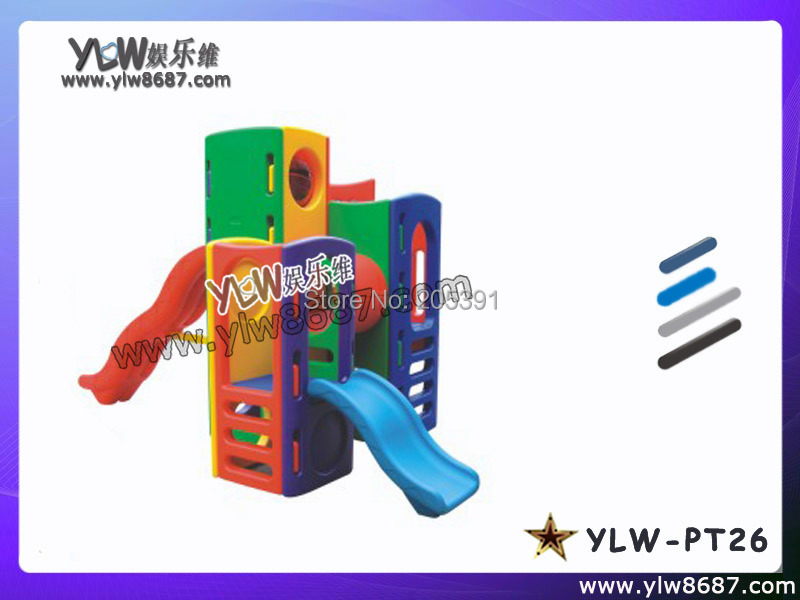 Combined Slide For Playground Park,kids Toys Slides For Baby Play Area,amusement Plastic Toys Playground