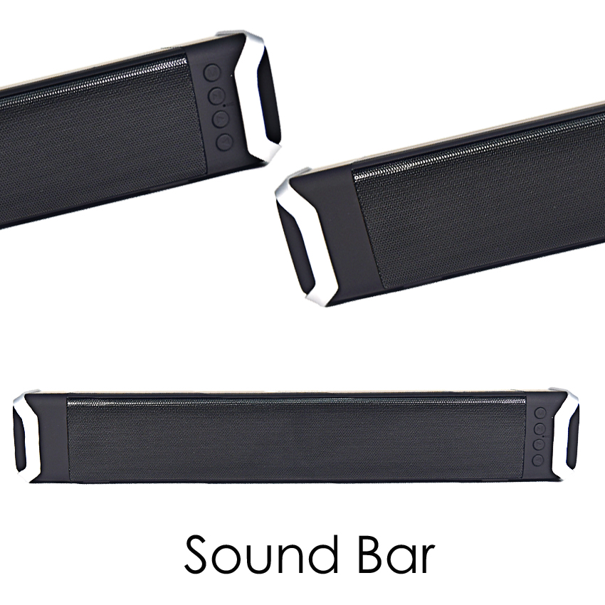 2018 New Original Bluetooth Sound Bar <font><b>For</b></font> Samsung <font><b>TV</b></font> Woofer Wireless 10W Support TF HDMI Heavy Bass Home Game <font><b>Speaker</b></font> System image