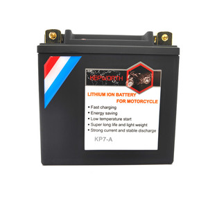 Image 2 - KP7 A Lithium iron Motorcycle Starte Battery 12V 7Ah CCA 260A LiFePO4 Motorbike Battery LFP Built in BMS For ATVs UTVs Scooter