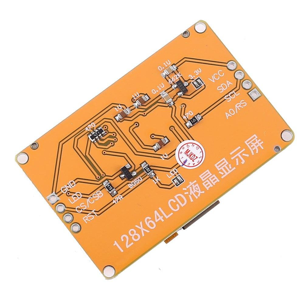 ЖК-дисплей 12864 межсоединений интегральных схем I2C ЖК-дисплей Дисплей модуль 128x64 точек 5V Графический Matrix ЖК-дисплей 12864 белый Подсветка