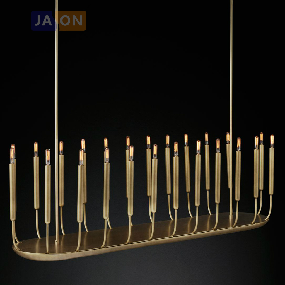LED American Vintage Iron Candle Customized LED Lamp LED Light.Pendant Lights.Pendant Lamp.Pendant light For Dinning Room Foyer