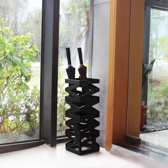 The M style hotel  umbrella creative metal wrought iron fashion umbrella display storage