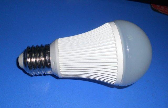 7W SMD LED bulb,AC85V-265V input, 15pcs SMD 5630 led