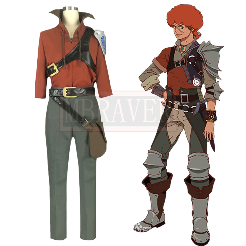 Rage of Bahamut: Virgin Soul Favaro Leone Cosplay Costume Halloween Uniform Outfit Custom Made Any Size
