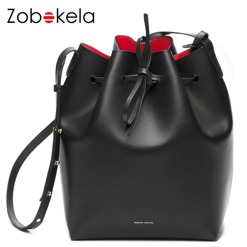 ZOBOKELA luxury handbags women bags designer messenger crossbody bags for women bags PU leather Bucket handbags famous brands