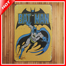 new superhero batman chic home bar vintage metal signs home decor vintage tin signs pub vintage