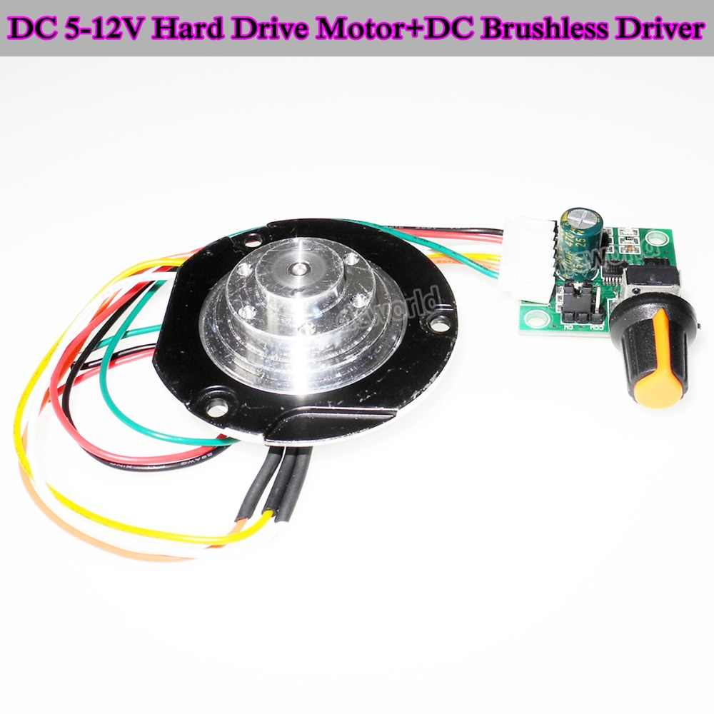 Detail Feedback Questions About Dc 5 12v Micro Hard Drive Motor Miniature Driver Modules Mini Fluid Dynamic Bearing High Speed Bldc