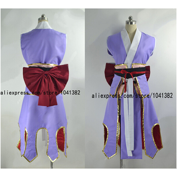 New Fairy Tail Cosplay set Erza Scarlet Full COS Elza Scarlet Costume Fairy Tail Elza Scarlet Purple Free shipping фото