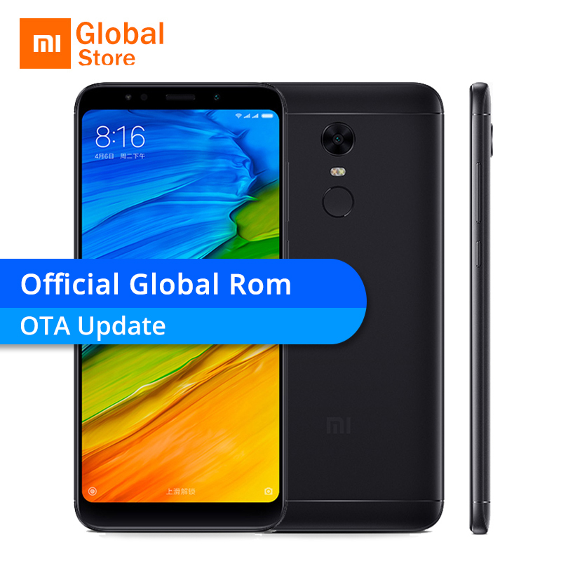 "Official Global ROM Xiaomi Redmi 5 Plus 3 GB 32 GB ROM Mobile Phone 5.99 ""18:9 Screen"