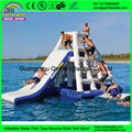0.9mm PVC Tarpaulin Inflatable Water Climbing Slide For Adults And Kids