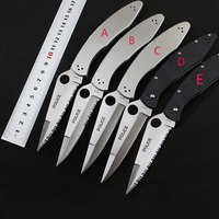 VG10 Serrated Blade Stainless Steel G10 Handle Police C07 Folding Knife Camping Hunting Survival Tactical Knife