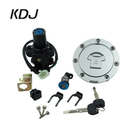 For Honda CBR600F4/F4i 2001 2006 NT650 (DEAUVILLE/ HAWK)1998 2005 Motorcycle Ignition Switch Fuel Gas Cap Seat Lock Key Set