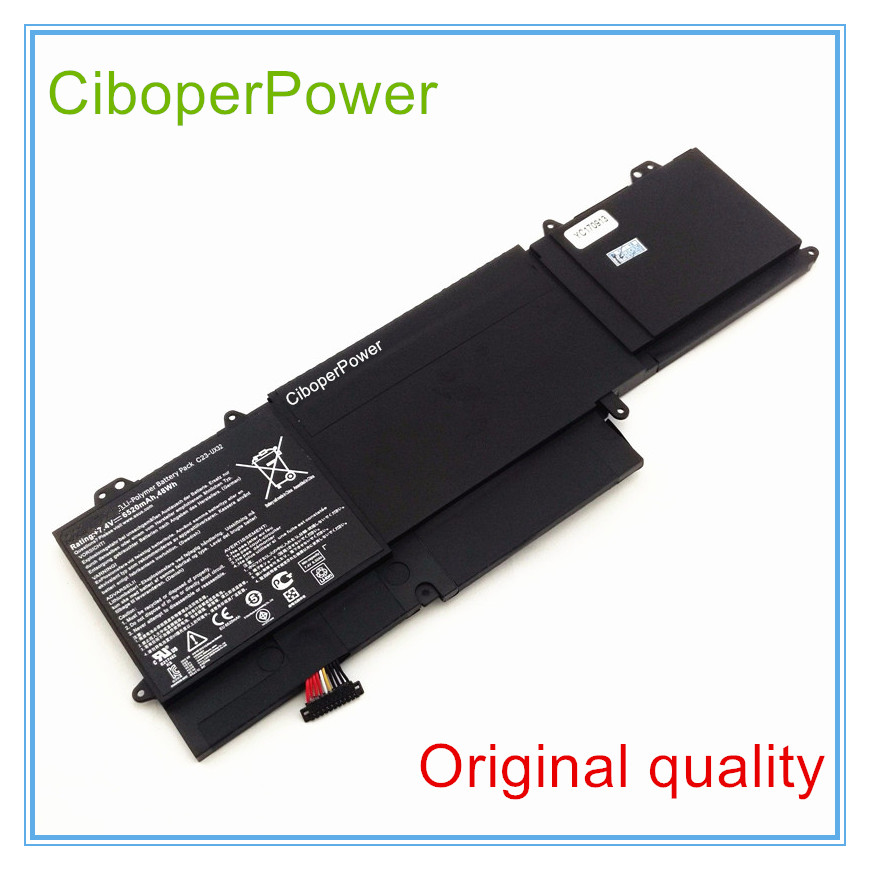Original New Laptop Battery for X32VD UX32A U38N UX32 Battery C23-UX32 48WH 6520mAh