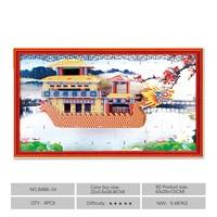 Originale di Magic Puzzle 3D Giocattolo Di Puzzle DIY Edificio Carta Modello