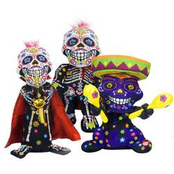 Halloween Plush Toys Money-Control Ghost Skeleton Skull Bones Ghost Animated Dancing Ghost Dolls Electric Funny Children Toys