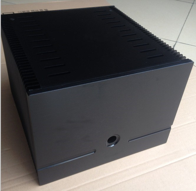 D-008 QUEENWAY 180 full aluminum small mesa power Case amplifier chassis 245mm*180mm*257mm 245*180*257mm