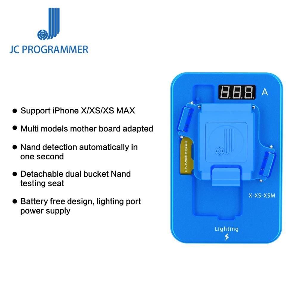 JC Originale iPhone X/XS/XSMAX Nand Apparecchio di Prova per il iphone X/XS/XSMAX strumento di riparazioneJC Originale iPhone X/XS/XSMAX Nand Apparecchio di Prova per il iphone X/XS/XSMAX strumento di riparazione
