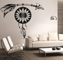 Special Hot Selling Dream Catcher Patterned Wall Decals American Style Designed Home AMulet Cool Decor Stickers W-518