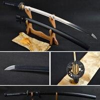 Высокое качество клинок из дамасской стали Настоящее японский меч самурая острый меч катана край Битва готов