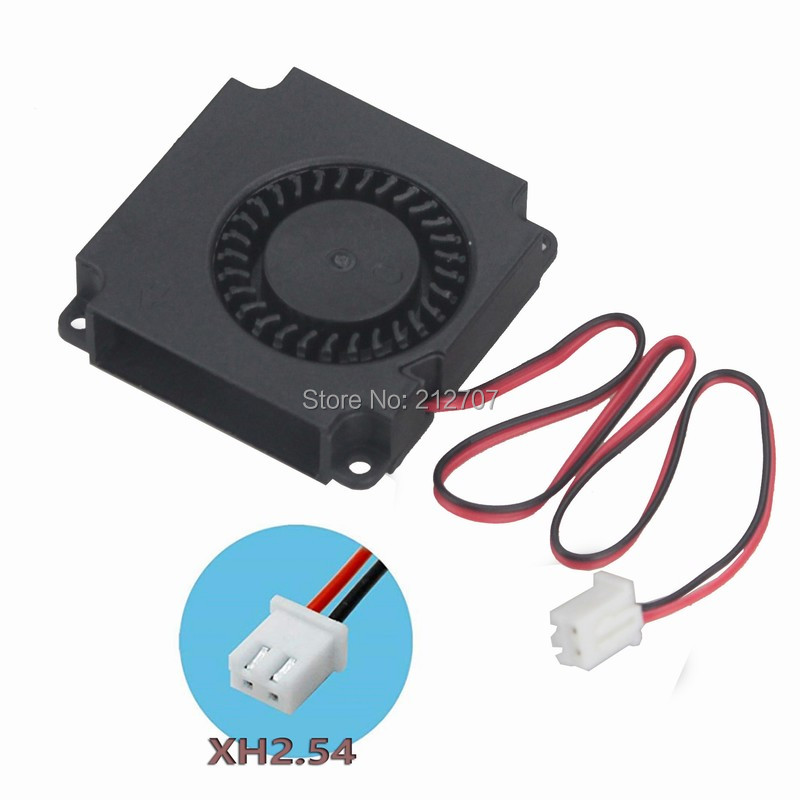 Купить с кэшбэком 10 Pcs Gdstime Mini Brushless DC Blower Fan 24V 4010 40mm x 10mm 2 Pin Ball-bearing