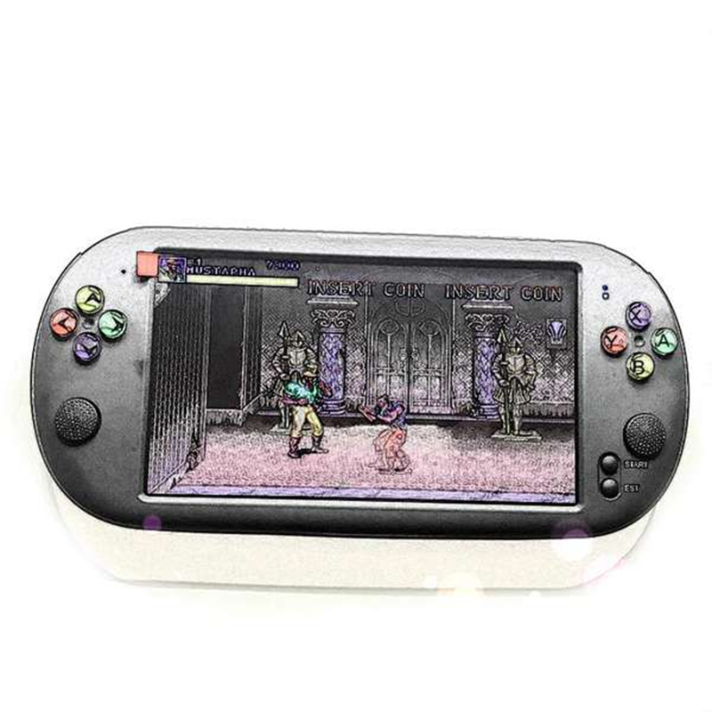 Powkiddy 7 Inch Game Console Portable Support For Neogeo Arcade Video Games With 1500 Free Retro Mini Game 8 Bit 16/32 Bit Conso 7