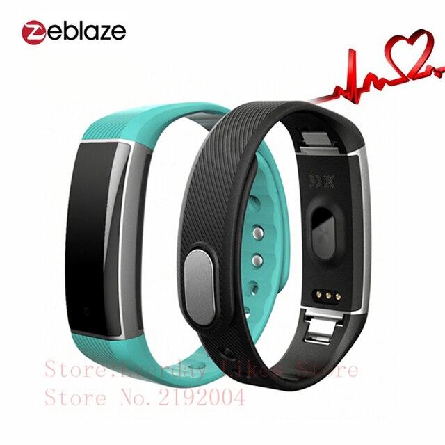 Original Zeblaze ZeBand Smart Bracelet Bluetooth 4.0 Smart Wristband Heart Rate Monitor IP67 Waterproof Swim mode for Android