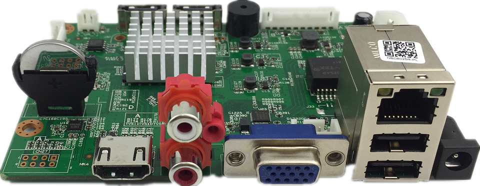 25CH 5MP 32CH 1080P H 265 H 264 NVR Network Digital Video Recorder 2 SATA Max