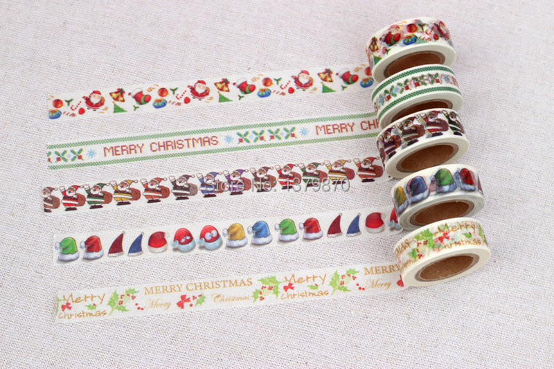 Each Design MOQ 200pcs Custom Printed Make Washi Tape Custom Logo Printing