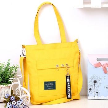 canvas shoulder bags for women 2018 high quality ladies messenger bags bags handbags women famous brands totes sac a main messenger bag