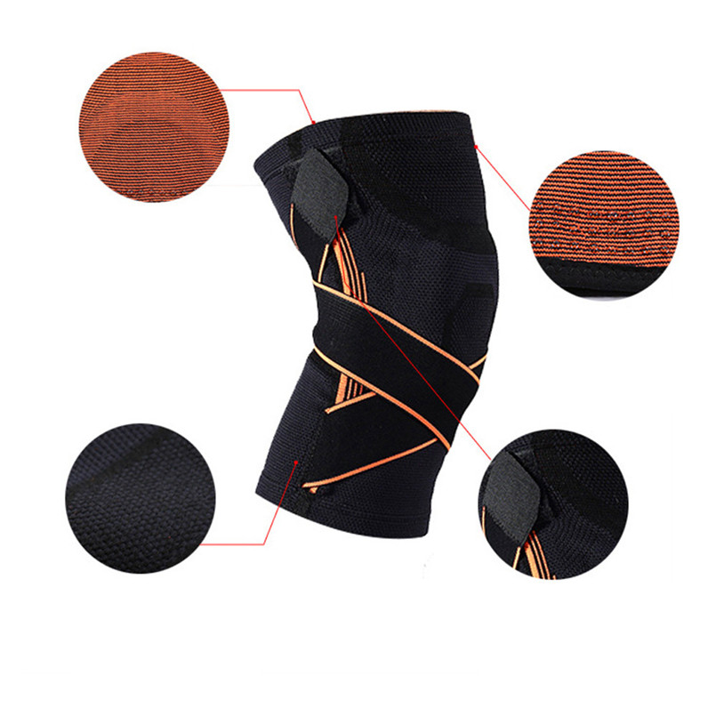 snowshine2#4501Outdoor Bicke Cycling Cloth Sports Knee Support Breathable Sleeve Compression Knee Brace