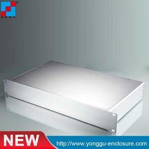 Алюминиевый серверный ящик 482*66,7-250 мм 1.5U, алюминиевый корпус, рама с rackmount