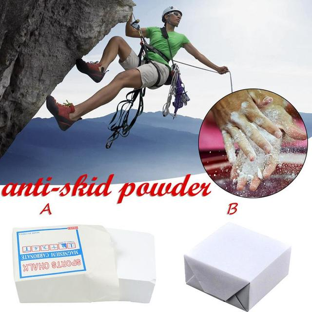 Climbing Anti Skid Magnesium Powder Block Sports Slip Powder High Quality And Easy To Carry 9x9x4.5 Cm Size Gym Accessories