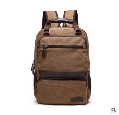 Men Travel Backpack Bag Rucksack Canvas Backpack For Men 15 inch Laptop Backpack Man Canvas Notebook bag Travel Shoulder Bags 13 14 15 6 17 3 inch computer shoulder bag shockproof laptop backpack canvas leisure men women laptop notebook backpack