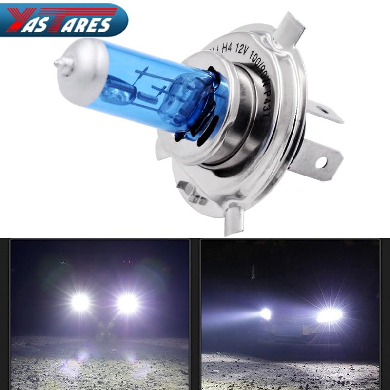 2pcs Car Headlight H1 H3 H4 H7 Headlight Lamp Super White Car Auto Head Light Headlight Bulbs 55W 100W 12V 5000K Fog Lights