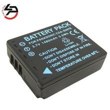 1480 мАч 100% Новый бренд Замена Камера Батарея для Panasonic CGA-S007E CGA-DU07 CGA-DU12 CGA-DU14 DMC-TZ1 TZ2 TZ3 DMW-BCD10